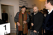 RON ARAD AND HUSSEIN CHALAYAN, Brit Insurance Design Awards. Design Museum. London. 18 March 2008.  *** Local Caption *** -DO NOT ARCHIVE-© Copyright Photograph by Dafydd Jones. 248 Clapham Rd. London SW9 0PZ. Tel 0207 820 0771. www.dafjones.com.