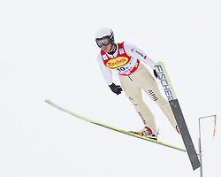 16.12.2011, Casino Arena, Seefeld, AUT, FIS Nordische Kombination, Ski Springen Team HS 109, im Bild Seppi Hurschler (SUI) // Seppi Hurschler of Switzerland during Ski jumping the team competition at FIS Nordic Combined World Cup in Sefeld, Austria on 20111211. EXPA Pictures © 2011, PhotoCredit: EXPA/ P.Rinderer