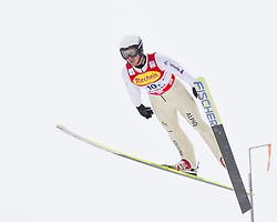 16.12.2011, Casino Arena, Seefeld, AUT, FIS Nordische Kombination, Ski Springen Team HS 109, im Bild Seppi Hurschler (SUI) // Seppi Hurschler of Switzerland during Ski jumping the team competition at FIS Nordic Combined World Cup in Sefeld, Austria on 20111211. EXPA Pictures © 2011, PhotoCredit: EXPA/ P.Rinderer