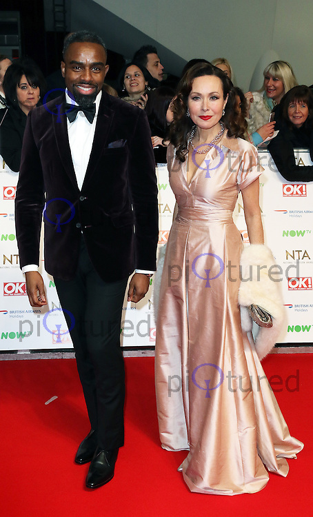 Charles Venn, Amanda Mealing, National Television Awards, The O2, London UK, 20 January 2016, Photo by Richard Goldschmidt