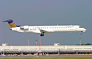 Eurowings Canadair CL-600-2D24 Regional Jet At Milan, Italy