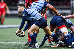 Cardiff Blues' Tomos Williams - Mandatory by-line: Craig Thomas/Replay images - 31/12/2017 - RUGBY - Cardiff Arms Park - Cardiff , Wales - Blues v Scarlets - Guinness Pro 14