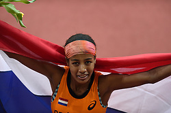 08-03-2015 CZE: European Athletics Indoor Championships, Prague<br /> Sifan Hassan pakt goud op het EK indoor