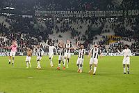 17.02.2017 - Torino - Serie A 2016/17 - 25a giornata  -  Juventus-Palermo nella  foto: I giocatori della Juventus esultano a fine partita