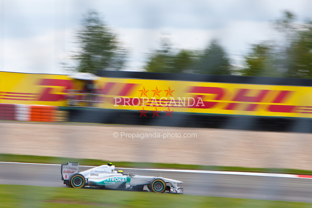 23.07.2011, Nuerburgring, Adenau, GER, F1, Grosser Preis von Deutschland, Nürburgring, Qualifikation, im Bild Nico Rosberg (GER), Mercedes GP Petronas F1 Team // during qualifying at Formula One Championships 2011 German Grand Prix held at the Nuerburgring, Adenau, Germany, 23/7/2011, EXPA Pictures © 2011, PhotoCredit: EXPA/ J. Groder