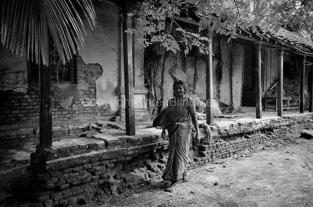 Old House. Village by the sea. Murthy Pudukuppam. Tamil Nadu.