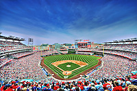Washington DC, USA - April 19, 2014:  Washington Nationals vs St. Louis Cardinals play at Nationals Park