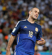 Argentina's Rodrigo Palacio during the 2014 FIFA World Cup Final match at Maracana Stadium, Rio de Janeiro<br /> Picture by Andrew Tobin/Focus Images Ltd +44 7710 761829<br /> 13/07/2014
