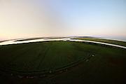 delta lands near Swinousczje