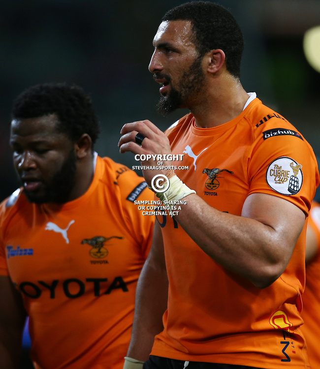 DURBAN, SOUTH AFRICA - SEPTEMBER 10: Uzair Cassiem of the Toyota Free State Cheetahs during the Currie Cup match between the Cell C Sharks and Toyota Cheetahs at Growthpoint Kings Park on September 10, 2016 in Durban, South Africa. (Photo by Steve Haag/Gallo Images)