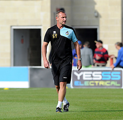Steve Yates - Mandatory byline: Neil Brookman/JMP - 07966 386802 - 03/10/2015 - FOOTBALL - Globe Arena - Morecambe, England - Morecambe FC v Bristol Rovers - Sky Bet League Two