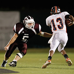 24 September 2010:  The St. Thomas Falcons against the Kentwood Roos at Strawberry Stadium in Hammond, LA.