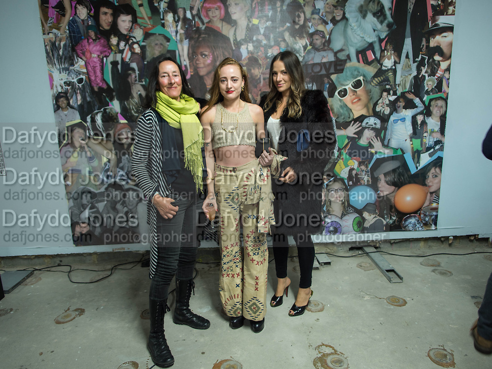TERRI ANDON; MILLIE BROWN; BECKIE LOU BROWN, Open Heart Surgery, mixed exhibition organised by the Moving Museum, 180  The Strand. London. 12 October 2013.