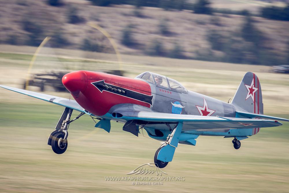 Yak-3 at Warbirds over Wanaka 2016, New Zealand
