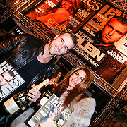 NLD/Amsterdam/20130207 - Presentatie Talkies Men 2013, Olcay Gulsen en Philipp Plein