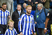 Sheffield Wednesday vice captain Barry Bannan walks out before the EFL Sky Bet Championship match between Sheffield Wednesday and Brentford at Hillsborough, Sheffield, England on 7 December 2019.