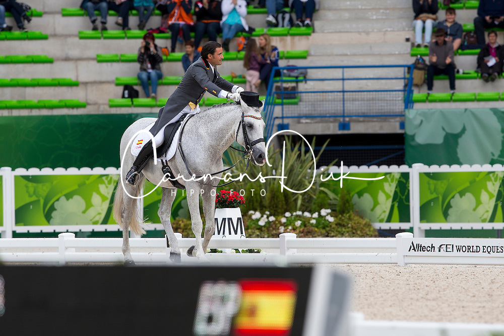 José Antonio Garcia Mena, (ESP), Norte Lovera - Grand Prix Special Dressage - Alltech FEI World Equestrian Games™ 2014 - Normandy, France.<br /> © Hippo Foto Team - Leanjo de Koster<br /> 25/06/14