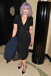 KELLY OSBOURNE at a Dinner to celebrate the launch of the Mulberry Cara Delevingne Collection held at Claridge's, Brook Street, London on 16th February 2014.