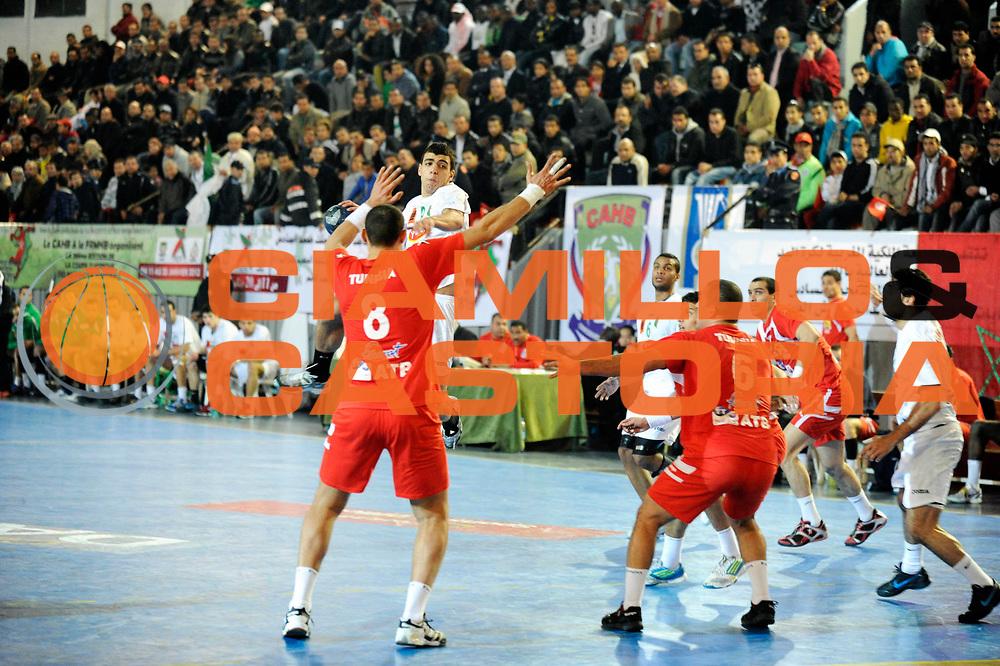 DESCRIZIONE : Hand Coupe Afrique des Nations Homme Maroc Rabat Finale<br /> GIOCATORE : Rahim Belkader<br /> SQUADRA : Algerie<br /> EVENTO : FRANCE Hand CAN<br /> GARA : Algerie Tunisie<br /> DATA :20/01/2012<br /> CATEGORIA : Hand CAN<br /> SPORT : Handball<br /> AUTORE : JF Molliere <br /> Galleria : France Hand 2011-2012 Action<br /> Fotonotizia : CAN Hand RABAT Maroc Demi Finale<br /> Predefinita :