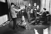 Denny's Slogan Winner commercial is filmed at Raidio Telefís Éireann..06.12.1962