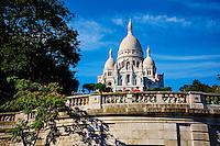 France, Paris (75), la Butte Montmartre, la basilique du Sacré-Coeur // France, Paris, Sacre Coeur Basilica at Montmartre