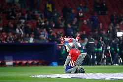 November 24, 2018 - Madrid, MADRID, SPAIN - Mascot of Atletico de Madrid during the Spanish Championship La Liga football match between Atletico de Madrid and FC Barcelona on November 24th, 2018 at Wanda Motropolitano stadium in Madrid, Spain. (Credit Image: © AFP7 via ZUMA Wire)