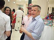 GARY WEBB; JAKE MILLER, Tate Summer Party. Celebrating the opening of the  Fiona Banner. Harrier and Jaguar. Tate Britain. Annual Duveens Commission 29 June 2010. -DO NOT ARCHIVE-© Copyright Photograph by Dafydd Jones. 248 Clapham Rd. London SW9 0PZ. Tel 0207 820 0771. www.dafjones.com.