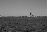 The Statue of Liberty viewed from the Staten Island Ferry New York circa 2000