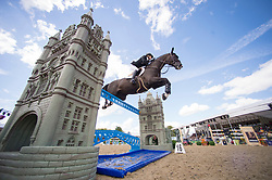 Foster Tiffany, CAN, Tripple X III<br /> Rolex Grand Prix Jumping<br /> Royal Windsor Horse Show<br /> © Hippo Foto - Jon Stroud