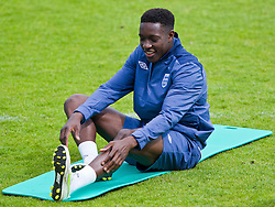FREDERICIA, DENMARK - Tuesday, June 14, 2011: England's Daniel Welbeck (Manchester United FC) during training at the Fredericia Stadium ahead of the UEFA Under-21 Championship Denmark 2011 Group B match against Ukraine. (Photo by Vegard Grott/Propaganda)