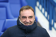 Sheffield Wednesday head coach Carlos Carvalhal  during the Sky Bet Championship match between Sheffield Wednesday and Brentford at Hillsborough, Sheffield, England on 13 February 2016. Photo by Simon Davies.