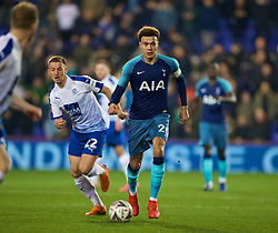 BIRKENHEAD, ENGLAND - Friday, January 4, 2019: Tottenham Hotspur's Dele Alli during the FA Cup 3rd Round match between Tranmere Rovers FC and Tottenham Hotspur FC at Prenton Park. (Pic by David Rawcliffe/Propaganda)