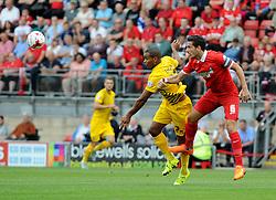 Jermaine Easter of Bristol Rovers - Mandatory byline: Neil Brookman/JMP - 07966386802 - 29/08/2015 - FOOTBALL - Matchroom Stadium -Leyton,England - Leyton Orient v Bristol Rovers - Sky Bet League Two