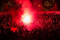 Osasuna's suporters during the celebration for promotion to La Liga BBVA . 19,06,2016. (ALTERPHOTOS/Rodrigo Jimenez)