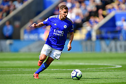 May 12, 2019 - Leicester, England, United Kingdom - Leicester City midfielder Marc Albrighton (11) during the Premier League match between Leicester City and Chelsea at the King Power Stadium, Leicester on Sunday 12th May 2019. (Credit Image: © Mi News/NurPhoto via ZUMA Press)