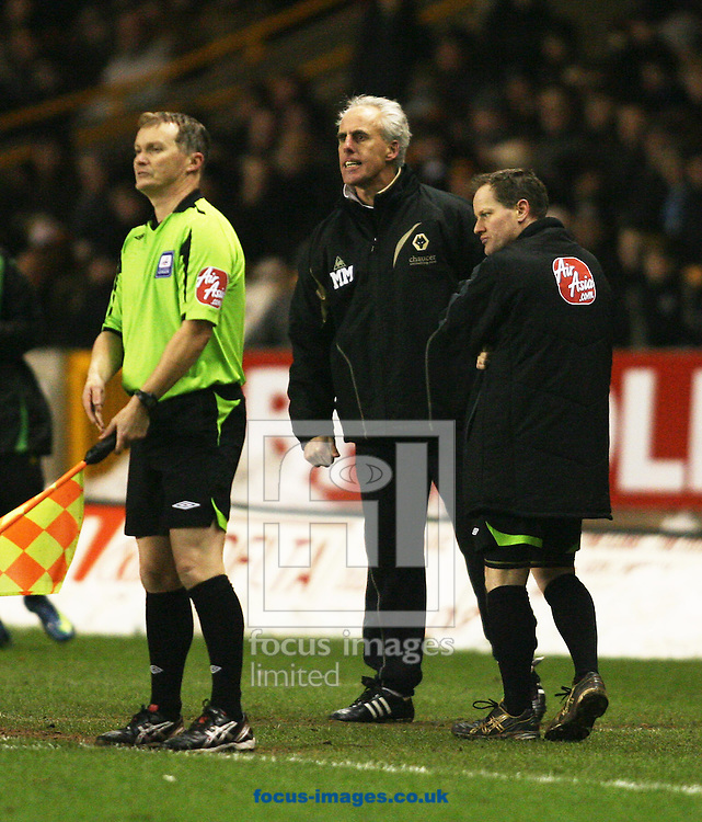 Wolverhampton - Tuesday February 3rd, 2009: Manager Mick McCarthy of Wolverhampton Wanderers against Norwich City during the Coca Cola Championship match at Molineaux, Wolverhampton. (Pic by Chris Ratcliffe/Focus Images)