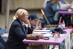 Amos-Jacob Kathy, (FRA)<br /> Grade Ia Team Test<br /> Para-Dressage FEI European Championships Deauville 2015<br /> © Hippo Foto - Jon Stroud<br /> 18/09/15