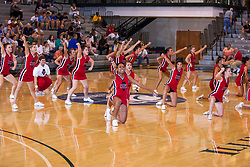 25 June 2011: ICCA Cheerleaders at the 2011 IBCA (Illinois Basketball Coaches Association) boys all star games.