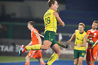 RAIPUR (India) . Dylan Wotherspoon (Aus) has scored 1-0.   . Semi Final Hockey Wold League Final  men . AUSTRALIA v THE NETHERLANDS.  © Koen Suyk/Treebypictures