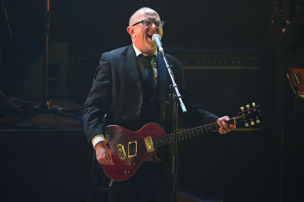 Dave Dobbyn performing at the APRA Silver Scroll Awards 2012. Auckland Town Hall. 13 September 2012.