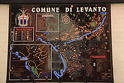 map of Levanto, Province of La Spezia, Liguria, Italy