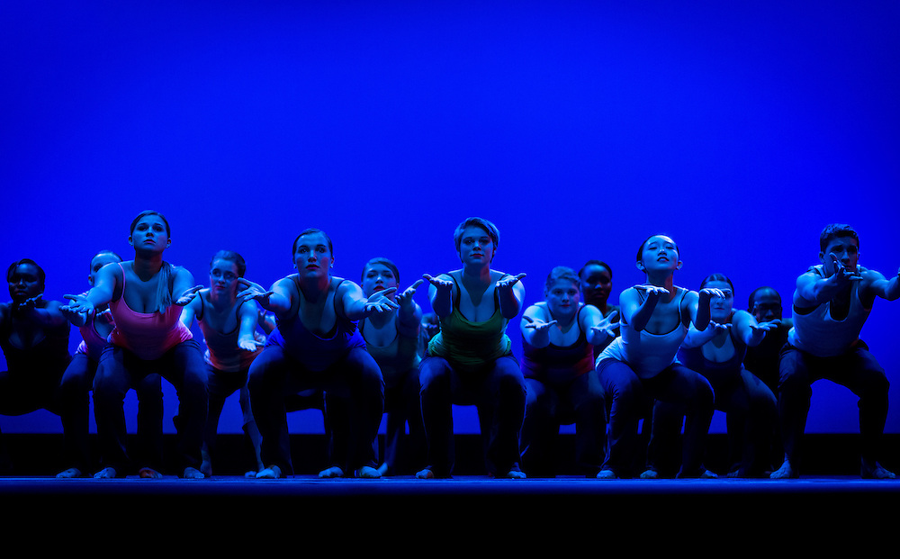 "CSC-Dancers Dress Rehearsal for the Fall Dance show, ""Turning Pointe"""