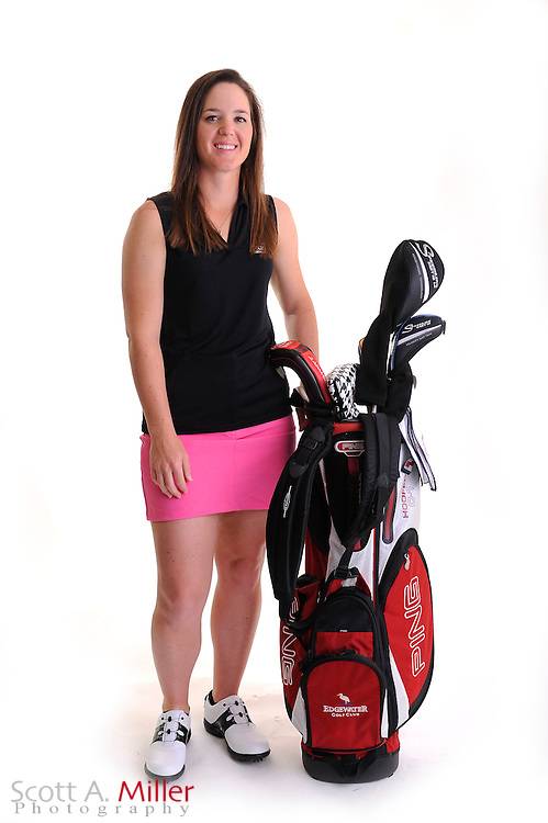 Laura Crawford during a portrait shoot prior to the Symetra Tour's Florida's Natural Charity Classic at the Lake Region Yacht and Country Club on March 20, 2012 in Winter Haven, Fla. ..©2012 Scott A. Miller.