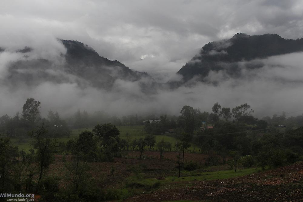 Landscape of Xecoxo. Nebaj, Quiche, Guatemala. June 05, 2013.