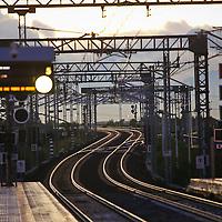 Stazione di Milano Rho fiera, settembre 2015.