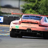#92, Porsche Motorsport, Porsche 911 RSR, LMGTE Pro, driven by: Michael Christensen, Kevin Estre, Laurens Vanthoor, 24 Heures Du Mans  2018, , 16/06/2018,