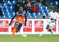 SOULEYMANE CAMARA - 07.02.2015 - Montpellier / Lille - 24eme journee de Ligue 1<br /> Photo : Andre Delon / Icon Sport