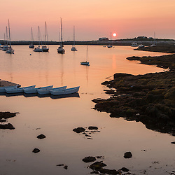 Dawn on Star Island, Rye, New Hampshire. Isles of Shoals.