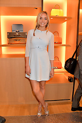 NOELLE RENO at the opening party for Moynat's new Maison de Vente in Mayfair at 112 Mount Street, London W1 on 12th March 2014.