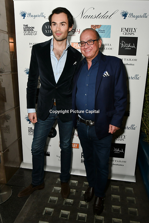 Mark-Francis Vandelli attend Nina Naustdal catwalk show SS19/20 collection by The London School of Beauty & Make-up at Bagatelle on 26 Feb 2019, London, UK.